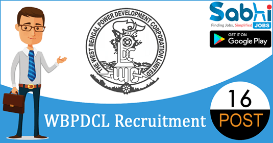 WBPDCL recruitment 16 Medical Officer