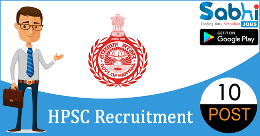 HPSC recruitment 10 District Attorney, Election Tehsildar