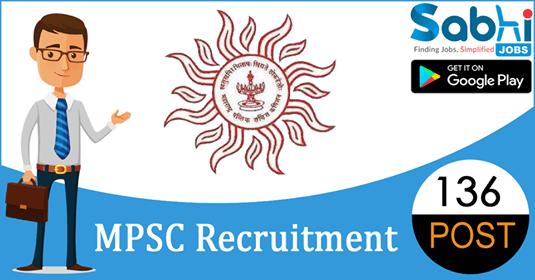 MPSC recruitment 136 Deputy Collector, Tahsildar