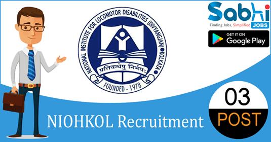 NIOHKOL recruitment 03 Office Assistant, MTS