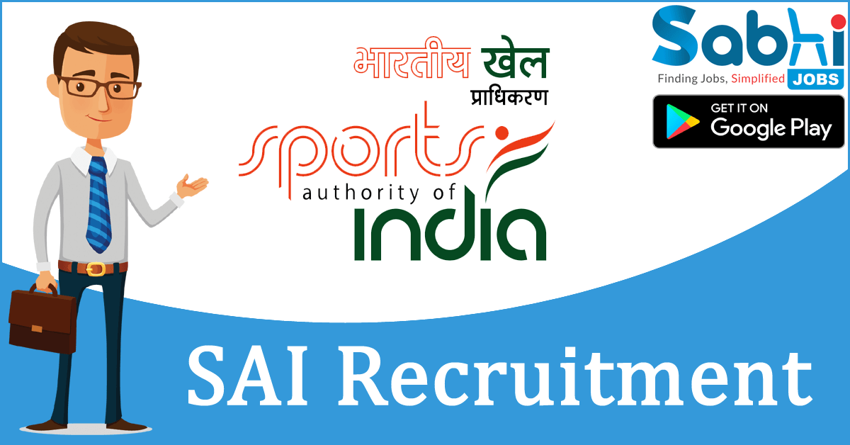 SAI recruitment 2018-19 notification apply for Cook/ Assistant Cook