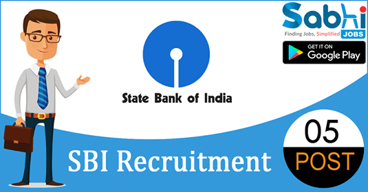 SBI recruitment 05 Post Doctoral Research Fellow