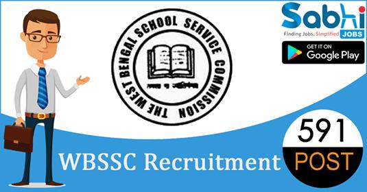 WBSSC recruitment 591 Junior Assistant, Junior Peon