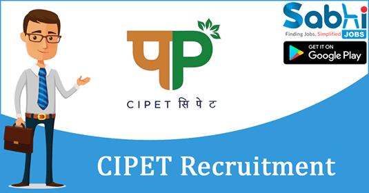 CIPET recruitment Junior Research Fellow