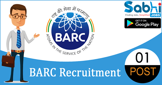 BARC recruitment 01 Part-Time Medical Officer