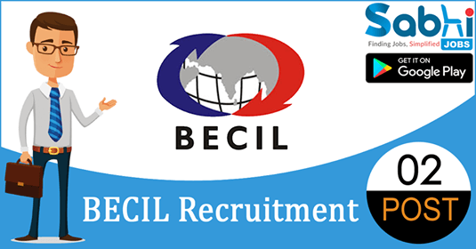 BECIL recruitment 02 Assistant Project Director
