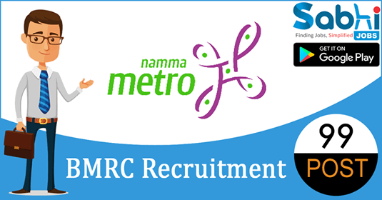 BMRC recruitment 99 Assistant Executive Engineer