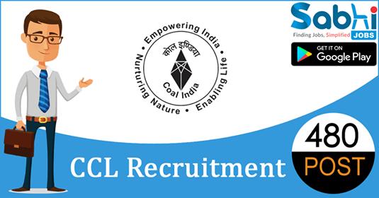 CCL recruitment 480 Mining Sirdar, Electrician