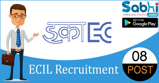 ECIL recruitment 08 Technical Officer, Scientific Assistant, Junior Artisan