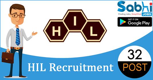 HIL recruitment 32 Graduate Apprentice, Technician Apprentice