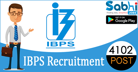 IBPS recruitment 4102 Probationary Officer/Management Trainee