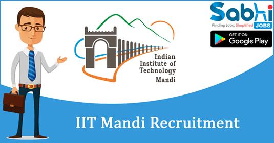 IIT Mandi recruitment Head of Operations