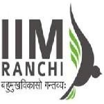 IIM Ranchi recruitment 2018-19 notification apply for 05 Academic Assistants Vacancies