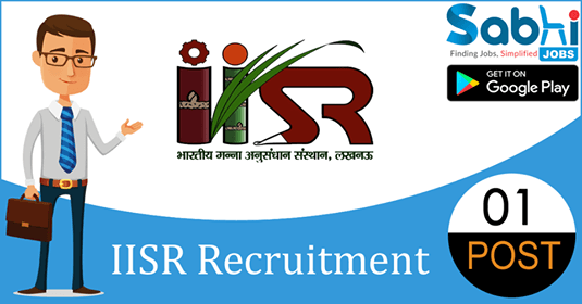IISR recruitment 01 Technical Assistant