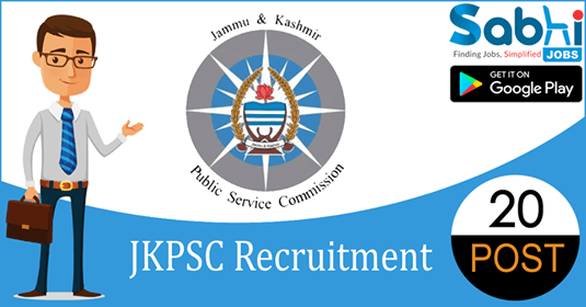 JKPSC recruitment 20 Lecturer