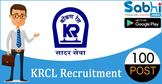 KRCL recruitment 100 Trackman, Pointsman