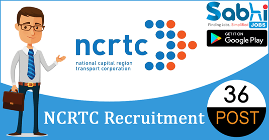 NCRTC recruitment 36 Manager, Assistant Manager