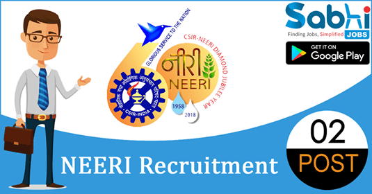 NEERI recruitment 02 PA Level II