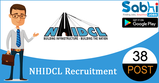 NHIDCL recruitment 38 Executive Director, Deputy General Manager