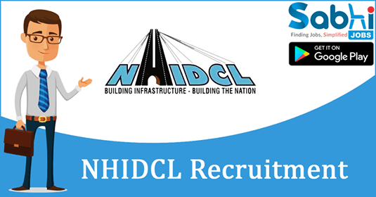 NHIDCL recruitment 2018-19 notification apply for Manager (Finance)