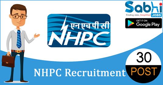 NHPC recruitment 30 Apprentice