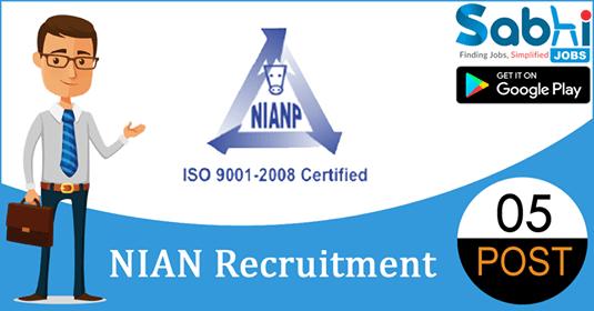 NIANP recruitment 05 Young Professional