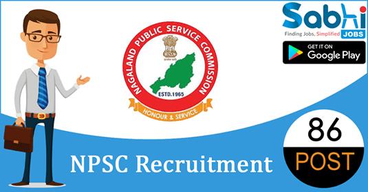 NPSC recruitment 86 Lecturers, Research Associate