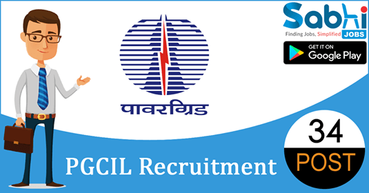 PGCIL recruitment 34 Diploma Trainee, Jr. Officer Trainee