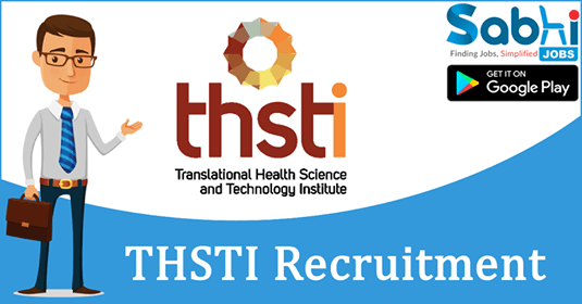 THSTI recruitment 2018-19 notification apply application for Research Officer