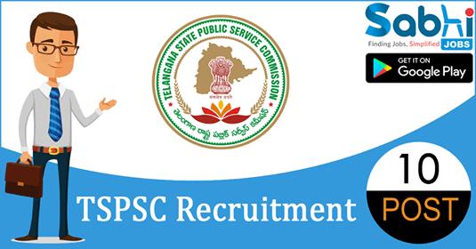TSPSC recruitment 10 Lab Assistant