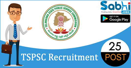 TSPSC recruitment 25 Plant Operator