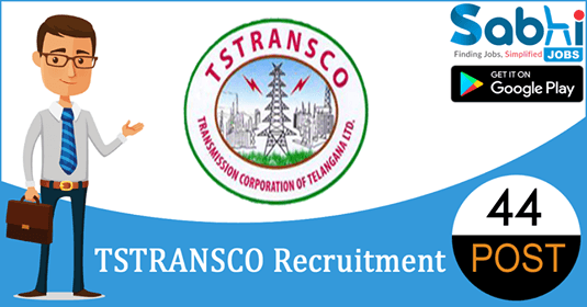 TSTRANSCO recruitment 44 Junior Accounts Officer