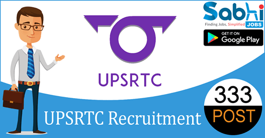 UPSRTC recruitment 333 Samvida Conductor