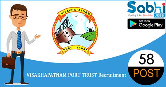 Visakhapatnam Port Trust recruitment 58 Trade Apprentices