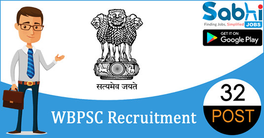 WBPSC recruitment 32 Sub-Divisional Information & Cultural Officer