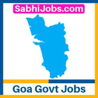 Goa Govt Jobs 2020