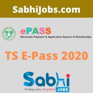 TS ePass Scholarship 2020