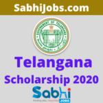 Telangana Scholarship 2020
