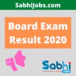 Board Exam Result 2020