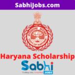 Haryana Scholarship 2020
