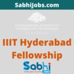 IIIT Hyderabad Kohli Ph.D. Fellowship 2020