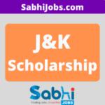 J&K Scholarship 2020