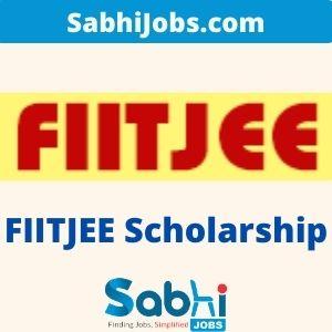FIITJEE Scholarship 2020