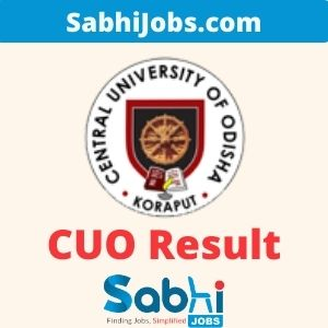 CUO Result 2020