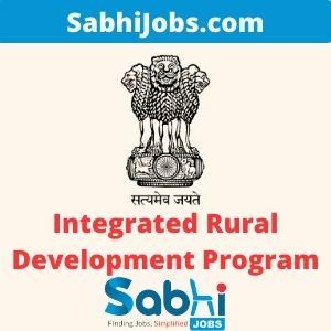 Integrated Rural Development Program 2020 – Last Date, Eligibility, Application Forms