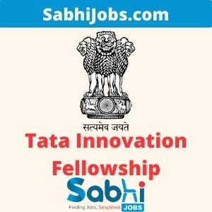 Tata Innovation Fellowship