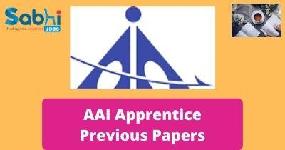 AAI Apprentice Previous Papers