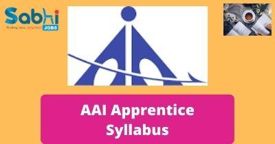 AAI Apprentice Syllabus
