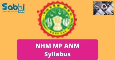 NHM MP ANM Syllabus