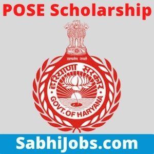 POSE Scholarship 2020-21 – Last Date, Benefits, Eligibility, Application Form